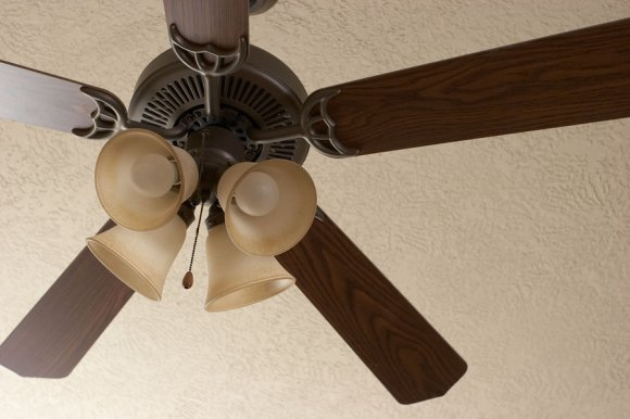 Ceiling fan options in San Jose